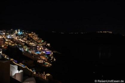 Nachts an der Caldera