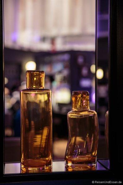 Flaschen im Radisson Blu