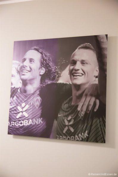 Werder Bremen in der Suite