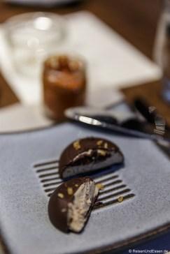 Gänsepastete im Schokoladenmantel