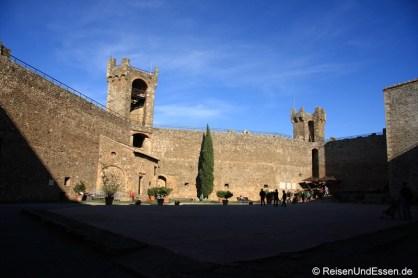 Kastell in Montalcino