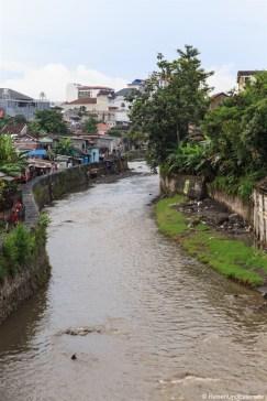 Kali Code River in Yogyakarta