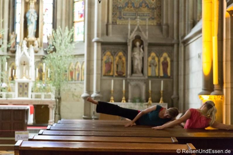 Meditation im Linzer Mariendom
