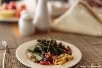 Unser Frühstück im Hotel Santika Premiere Gubeng Surabaya