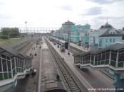 Bahnhof Omsk - Transsib - Russland