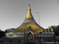 Myanmar - goldener Tempel