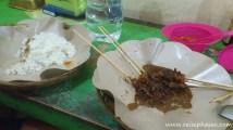 Satay - Fleischspieße in Erdnusssoße