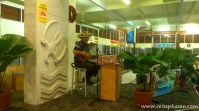 Begrüßung am Flughafen