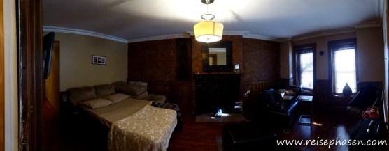 unser zweites Appartement