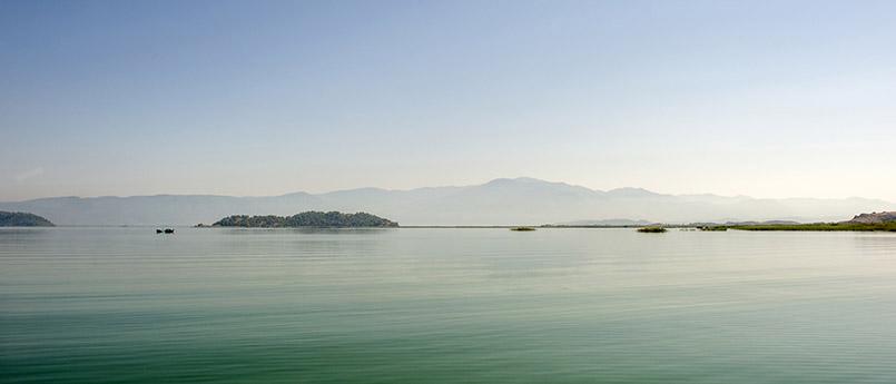 Der Köyceğiz-See bei Dalyan
