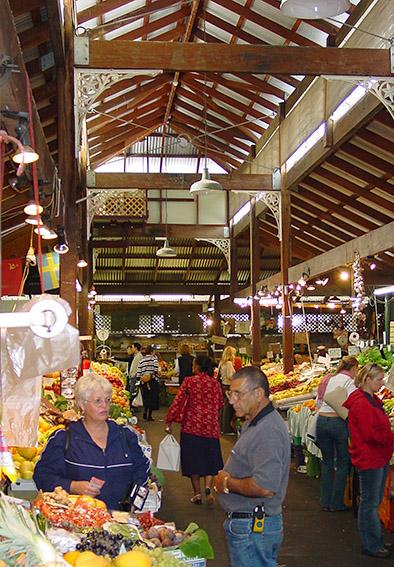 AUS/Western Australia/Fremantle/Fremantle Market: Obst- und Gem¸sebereich.