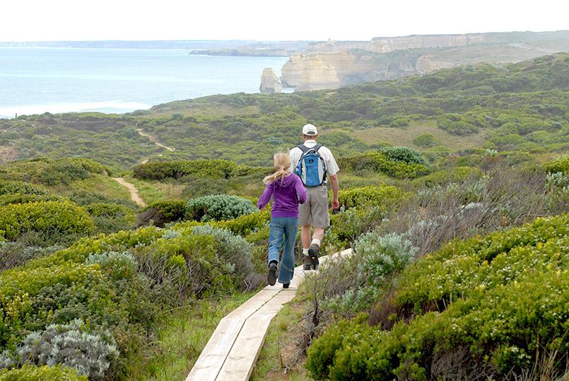 Südwest/Great Ocean Road: Great Ocean Walk, bei Gibson's Beach