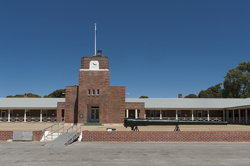 Die Kingstown Barracks von Rottnest Island