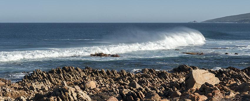 Die Küste von Yallingup in Westaustralien
