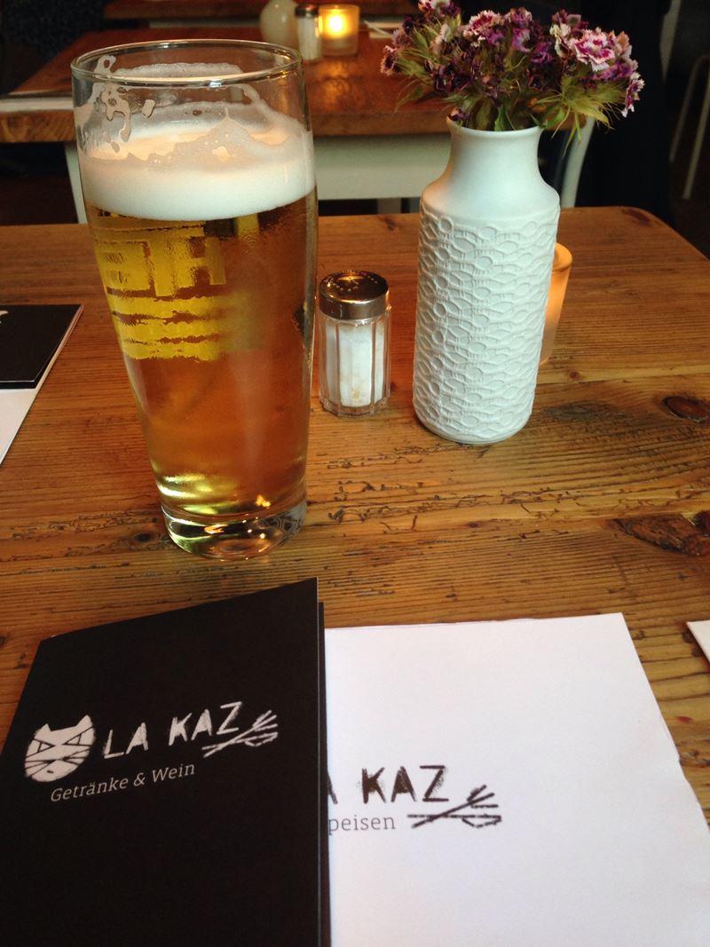 Gutes Tegernseer Bier im La Kaz