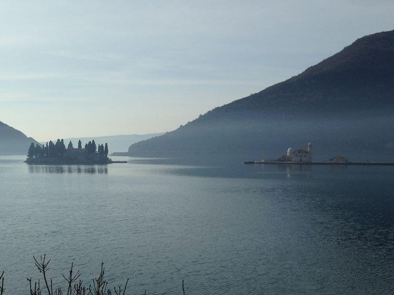 Klosterinseln in der Bucht