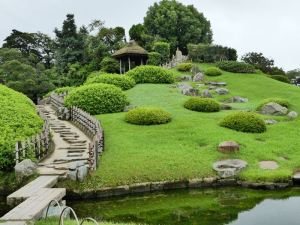 Korakuen-Garten in Okayama