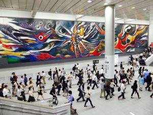 Bahnhof von Tokyo-Shibuya