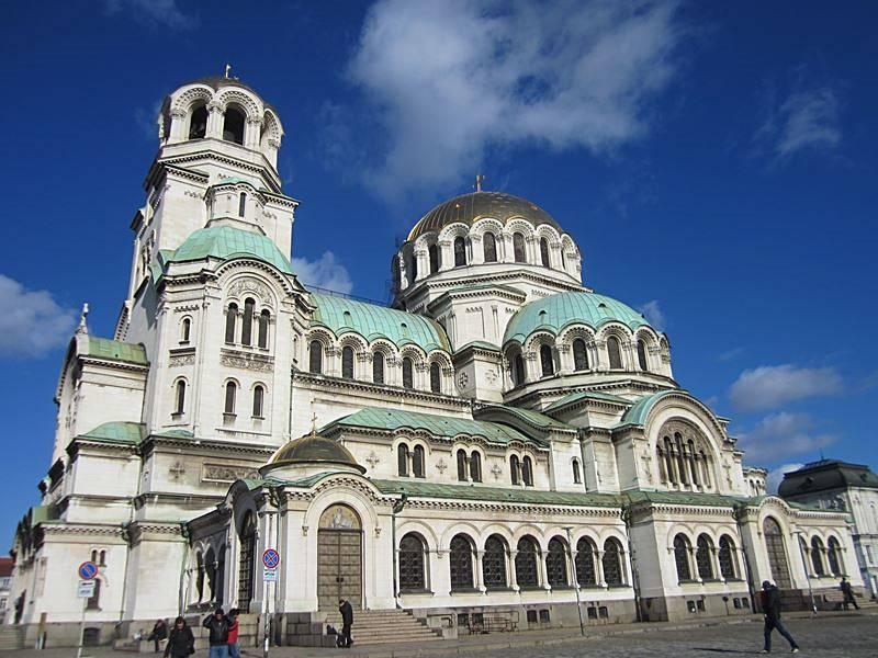 die Alexander-Newski-Kathedrale