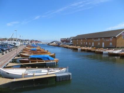 Stavern Hafen
