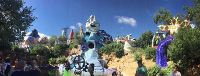 Der esoterische Skulpturengarten von Niki de Saint Phalle.