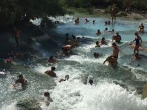 Am Zufluss zur Cascate del Mulino