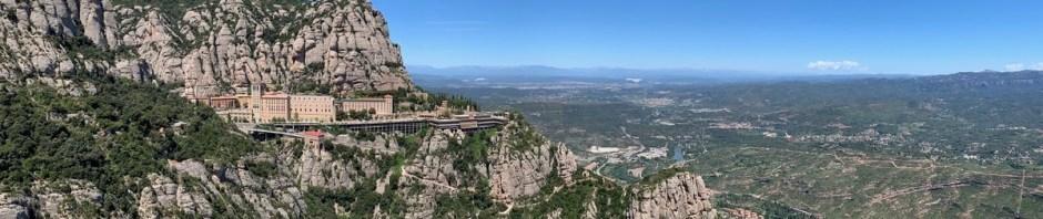 Blick auf Montserrat