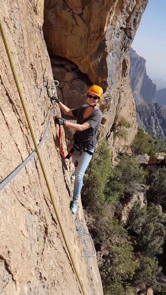 Oman Klettern