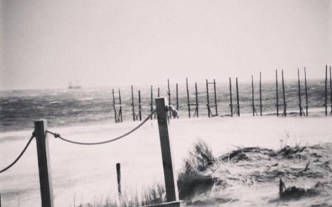Het strand op Texel