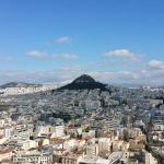 Uitzicht over Athene