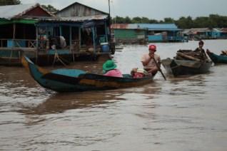 Tonle Sap, Cambodja