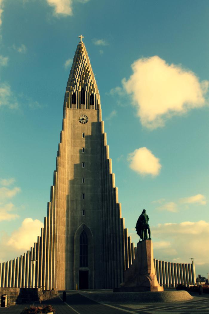 Kerk in Reykjavik