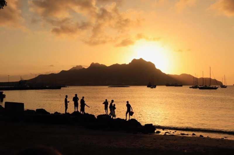 Vissers Mindelo Kaapverdië