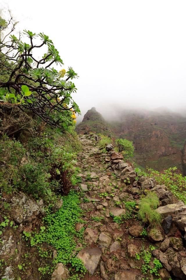 Hikingtrail bij Cuevas Bejamas