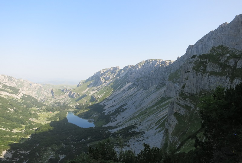 View on Skrcko jezero