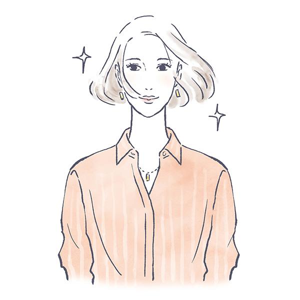 綺麗な大人の女性 コスメ スキンケア メイク イラスト 女性 ファッション 広告 web  美容  イラストレーター イラストレーション おしゃれ illustration fashionillustration woman illustrator イラストレーターreism・i(リズム)