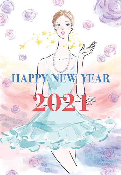 ドレスを着た女性 薔薇 イラスト 女性 ファッション 広告 web  美容  イラストレーター イラストレーション おしゃれ illustration fashionillustration woman illustrator イラストレーターreism・i(リズム)