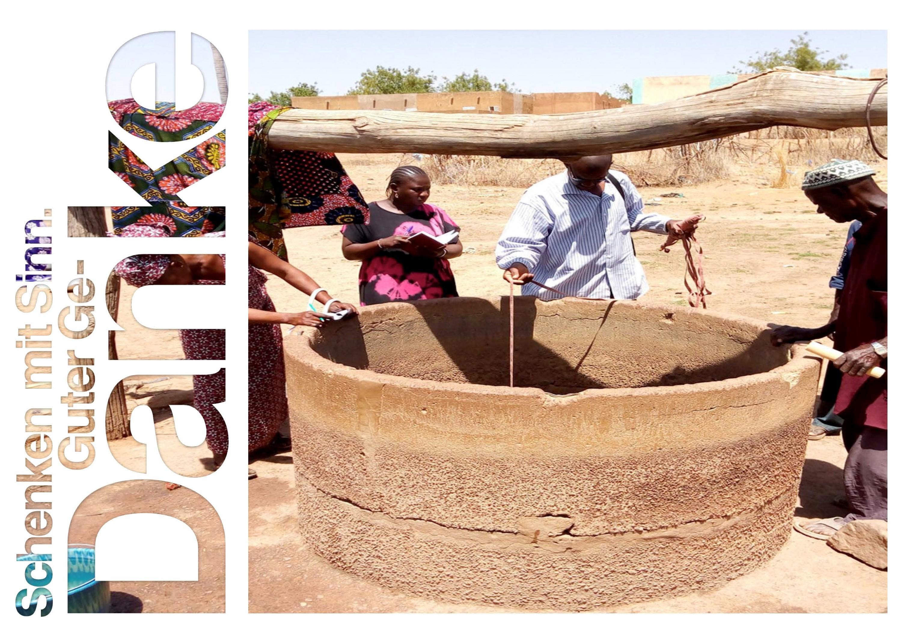 Bausteine für einen Brunnen