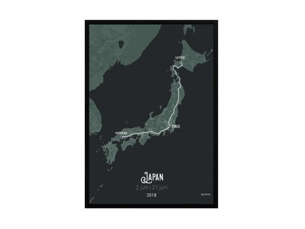 Japan deluxe in lijst