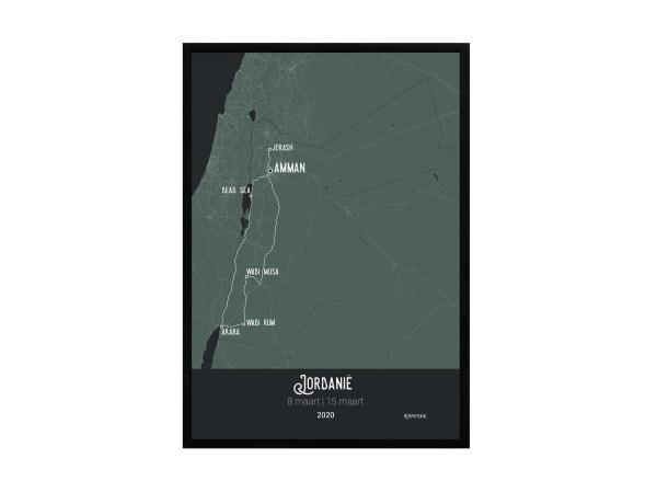 Jordanië in lijst