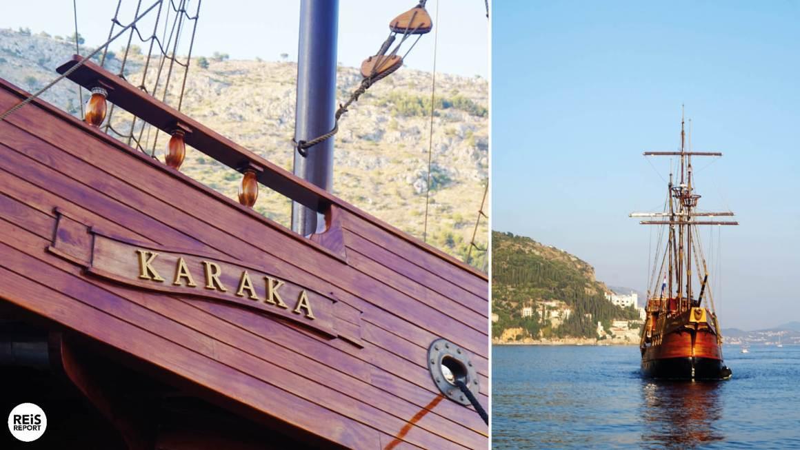 dubrovnik karaka schip