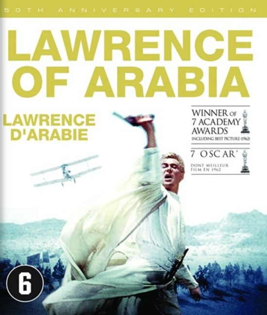 Blu-Ray: Lawrence in Arabia cover