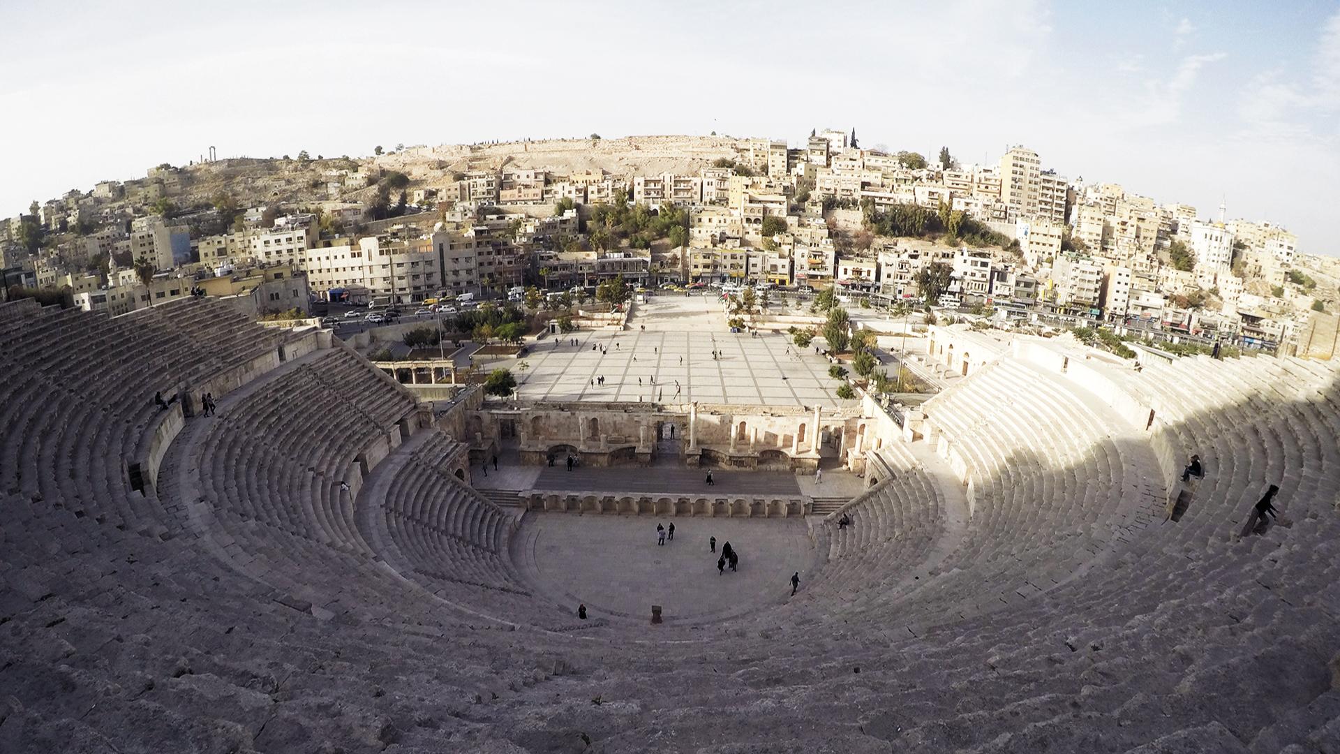 romeins theater amman jordanie2