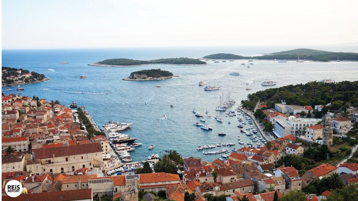 hvar town kroatie