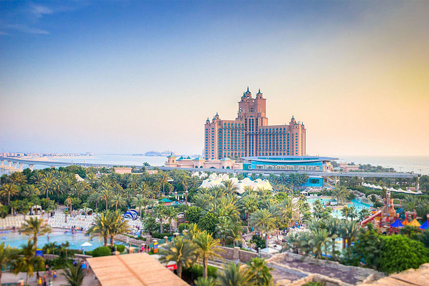 Het Atlantis the Palm hotel met waterpark Aquaventure