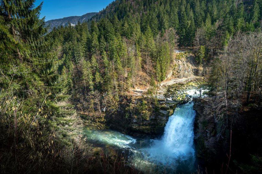 De waterval Saut du Doubs