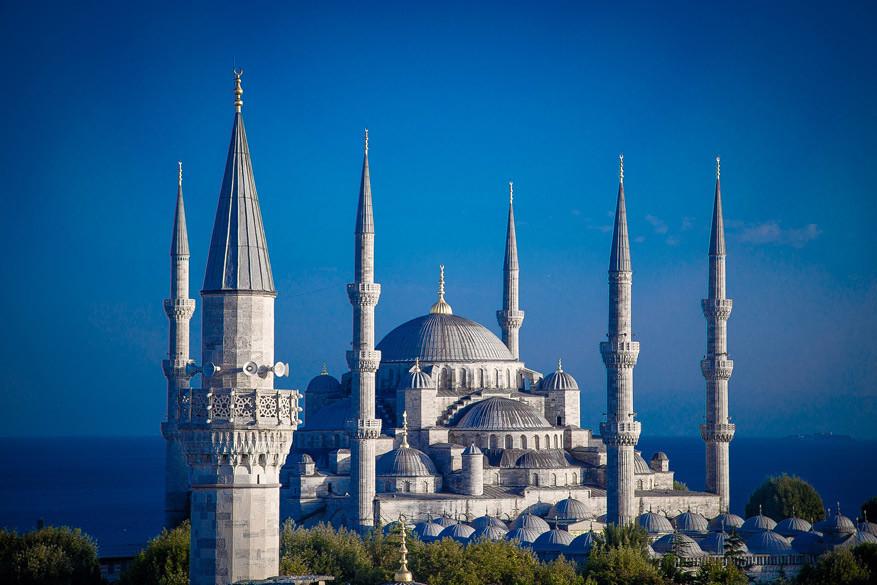 De Blauwe Moskee in Istanbul, Turkije © Pixabay