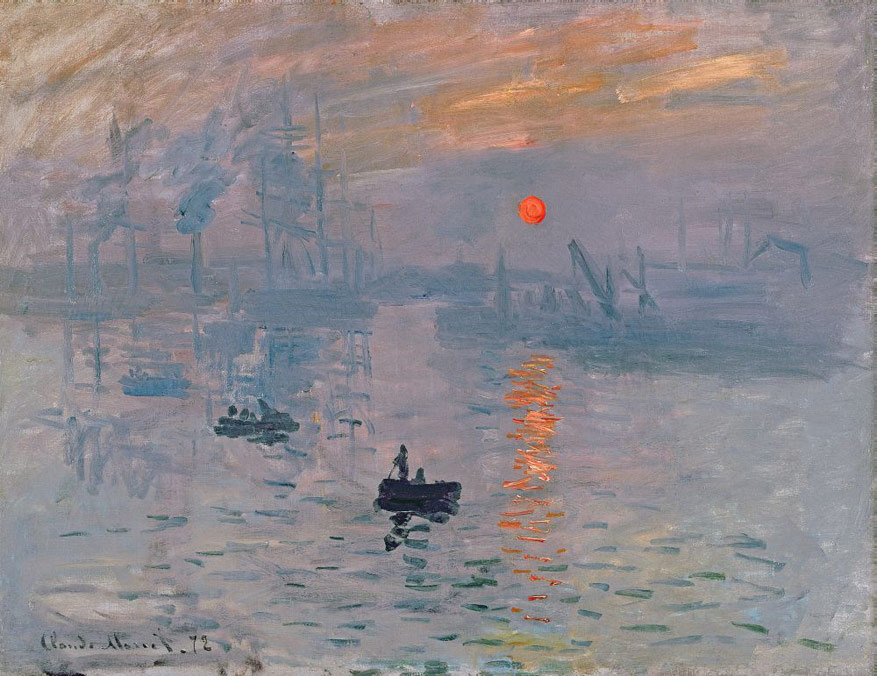 Claude Monet – Impression Soleil Levant © Bridgeman Images