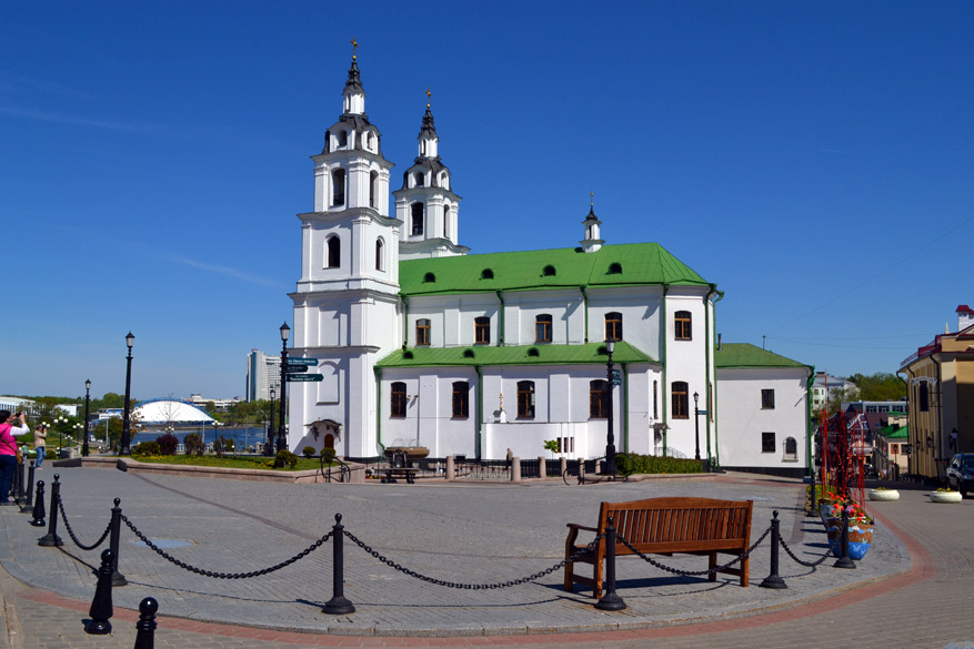 The Holy Spirit Cathedral, de belangrijkste orthodoxe kerk in Minsk.