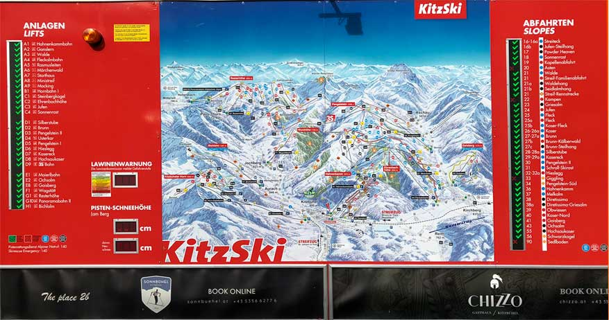 shortski in Kitzbuhel